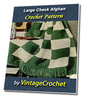 Thumbnail Large Check Afghan Vintage Crochet Pattern