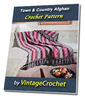 Thumbnail Town & Country Afghan Vintage Crochet Pattern