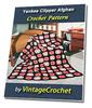 Thumbnail Yankee Clipper Afghan Vintage Crochet Pattern eBook