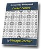 Thumbnail Arrowhead Bedspread Vintage Crochet Pattern