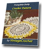Thumbnail Forsythia Doily Vintage Crochet Pattern