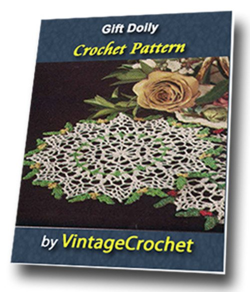 Product picture Gift Doily Vintage Crochet Pattern